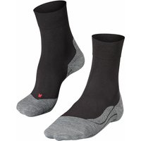 FALKE RU4 Men Running Socks, 49-50, Black, Cotton