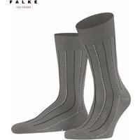 FALKE Iconized Men Socks, 39-40, Grey, Other pattern, Cotton