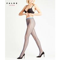 FALKE Hit 15 DEN Women Tights, M, Blue, Mesh