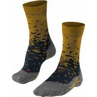 FALKE TK2 Gradient Men Trekking Socks, 46-48, Yellow, Wool