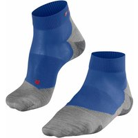FALKE RU5 Lightweight Short Men Running Socks, 46-48, Blue