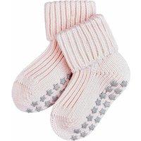 FALKE Catspads Cotton Baby Socks, 74-80, Rose, Block colour, Cotton