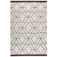 Tapis en laine scandinave Hexagon Esprit Home