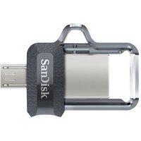 Clé Double Connectique USB 3.0 SanDisk Ultra Dual Drive m3.0 OTG 16 Go
