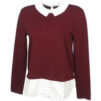 Pull fin Only Cally chocolate pull l Rouge taille : S réf : 12400