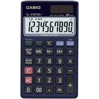 CASIO SL-310TER+ - Calculatrice de poche (Bleu)