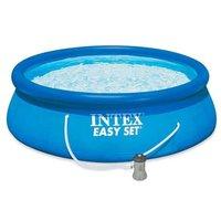 Kit Piscine Intex autostable EasySet 3,96 X 0,84 m Bleu