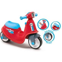 Smoby porteur scooter rouge + roues silencieuses