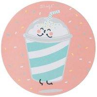 Tapis de souris rond Mr. Wonderful Edition Milkshake