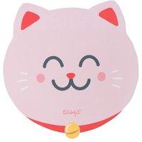 Tapis de souris rond Mr. Wonderful Edition Chat