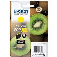Cartouche d'encre Epson Kiwi 202 Jaune XL (C13T02H44020)