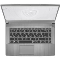 PC Portable Workstation MSI WF65 10TI 424FR 15,6 Intel Core i7 16 Go RAM 256 Go SSD 1 To SATA Silver