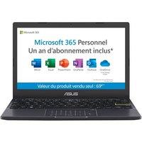 PC Ultra Portable Asus E210MA GJ106TS 11.6 Intel Celeron 4 Go RAM 64 Go eMMC Black étoile