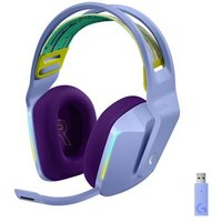 Casque Gaming sans fil Lightspeed Logitech G733 RVB Purple