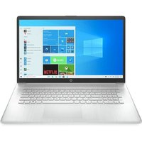 PC portable HP 17 CP0221NF AMD Ryzen 5 17.3 8 Go RAM 128 Go SSD 1 To HDD Silver naturel