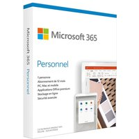 Microsoft 365 Personnel 1 utilisateur PC ou Mac 1 an