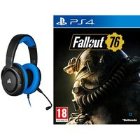 Pack Casque Gaming filaire Corsair HS35 Blue Fallout 76 PS4