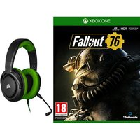 Pack Casque Gaming filaire Corsair HS35 Green Fallout 76 Xbox One