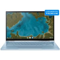 Chromebook Asus C433TA AJ0025 14 Intel Core i5 8 Go RAM 128 Go eMMC Blue Silver