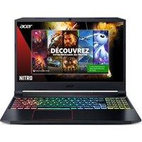 PC Portable Gaming Acer Nitro 5 AN515 55 51QY 15,6 Intel Core i5 16 Go RAM 512 Go SSD Black 1 mois Xbox Pass