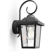 Buzzard myGarden - black outdoor wall lamp (915005309001)