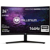 Ecran Gaming Millenium MD24 Pro 24 HD Incurvé Black