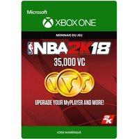 NBA 2K18 : 35,000 VC - Code de t�lechargement - Xbox One