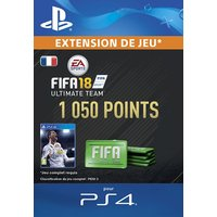 FIFA 18 Ultimate Team 1050 Points PS4 code de t�l�chargement