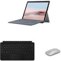 PC Hybride Microsoft Surface Go 2 10,5'' Tactile Intel Pentium Gold 4Go RAM 64Go eMMC Platine Souris Microsoft Surface Mobile Platine Clavier Type Cover Microsoft Surface Black