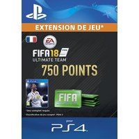 FIFA 18 Ultimate Team 750 Points PS4 code de t�l�chargement