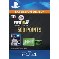 FIFA 18 Ultimate Team 500 Points PS4 code de t�l�chargement