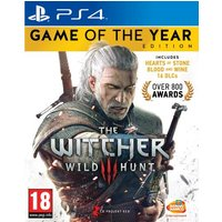 The Witcher 3 : Wild Hunt Game Of The Year Edition PS4