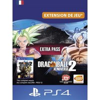 Code de t�l�chargement Dragon Ball Xenoverse 2 Extra Pass PS4