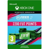 Code de t�l�chargement FIFA 19 Ultimate Team 2200 Points Xbox One