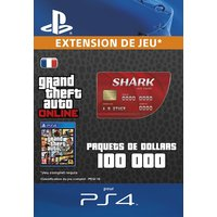 GTA V : Red Shark Cash Card PS4 code de t�l�chargement