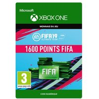 Code de t�l�chargement FIFA 19 Ultimate Team 1600 Points Xbox One