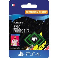 Code de t�l�chargement FIFA 20 Ultimate Team 2200 points PS4