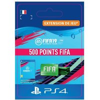 Code de t�l�chargement FIFA 19 Ultimate Team 500 Points PS4