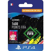 Code de t�l�chargement FIFA 20 Ultimate Team 1600 points PS4