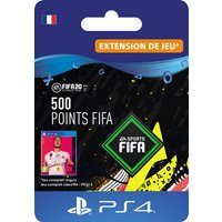Code de t�l�chargement FIFA 20 Ultimate Team 500 points PS4