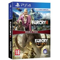 Compilation Far Cry 4 + Far Cry Primal PS4