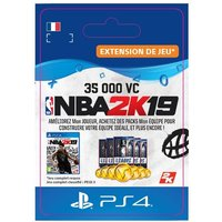 Code de t�l�chargement NBA 2K19 35000 VC PS4