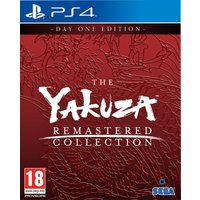 The Yakuza Remastered Collection Day One Edition PS4