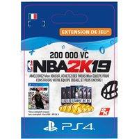Code de t�l�chargement NBA 2K19 200000 VC PS4