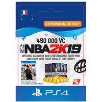 Code de t�l�chargement NBA 2K19 450000 VC PS4