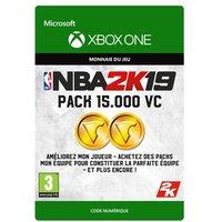 Code de t�l�chargement NBA 2K19 15000 VC Xbox One