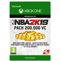 Code de t�l�chargement NBA 2K19 200000 VC Xbox One