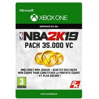 Code de t�l�chargement NBA 2K19 35000 VC Xbox One