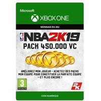 Code de t�l�chargement NBA 2K19 450000 VC Xbox One