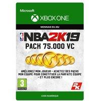Code de t�l�chargement NBA 2K19 75000 VC Xbox One